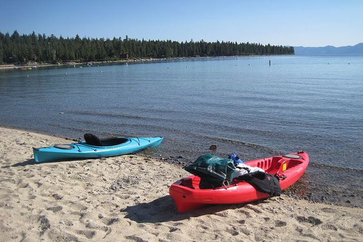 North Lake Tahoe and Truckee kayaking